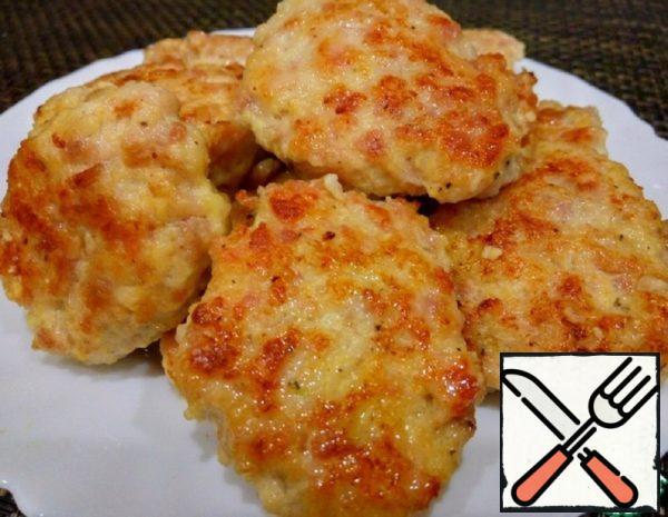 Lazy Chicken Cutlets Recipe