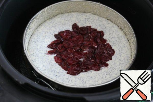 Baked in a slow cooker with a capacity of 900ВТ 1 hour. If in the oven at 180 degrees for 50-60 minutes - be guided by your oven!