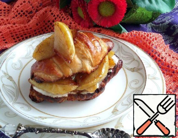 Croissants with Apples Recipe