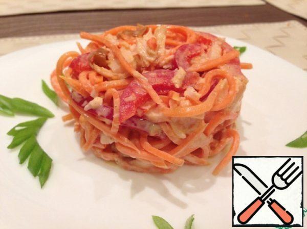 Salad with Chicken Recipe