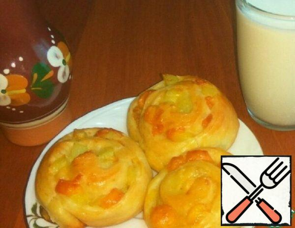 Rolls with Potatoes and Cheese Recipe
