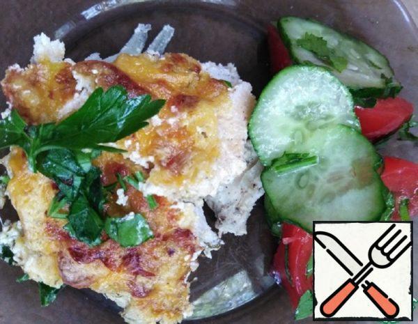 Chicken in Cheese Sauce Recipe
