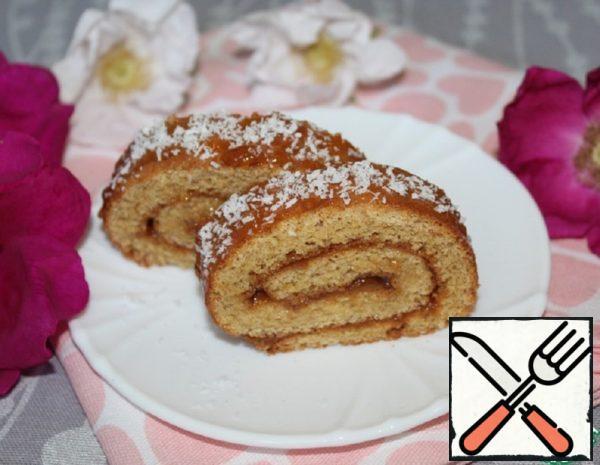 Sponge Roll made from Spelt Flour Recipe