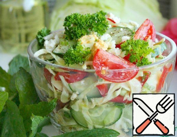 Cabbage Vegetable Salad Recipe