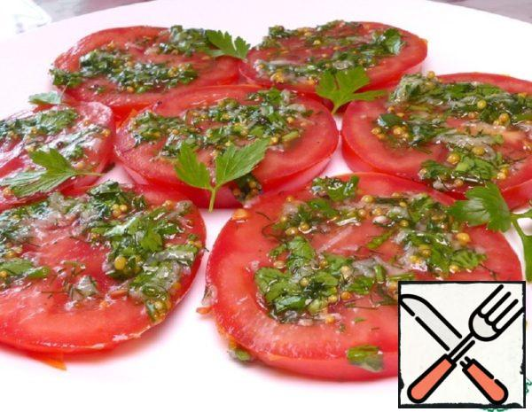 Pickled Tomatoes in Italian Recipe