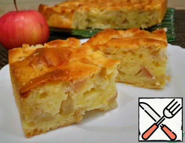 Mega Apple Pie on Kefir Recipe