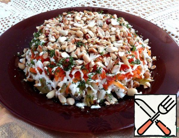 Chicken Salad with Peanuts Recipe
