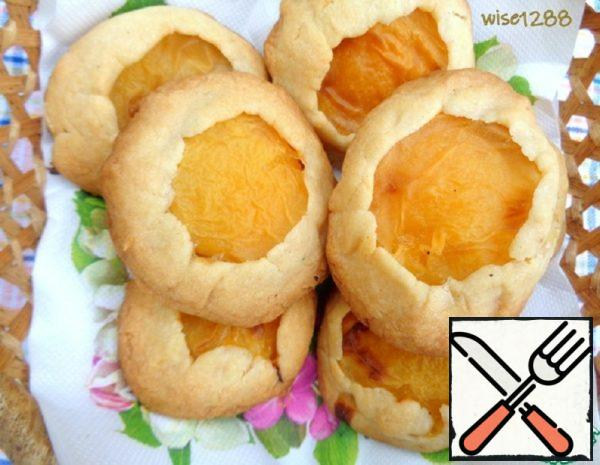 "Cookies ""Apricot in Short Pastry"" Recipe"