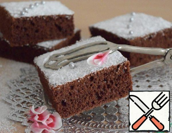 Spicy Cake with Powdered Sugar Recipe