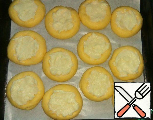 Spread batter pudding (0.5 tbsp).