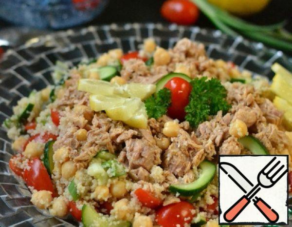 Salad with Tuna and Lemon Recipe
