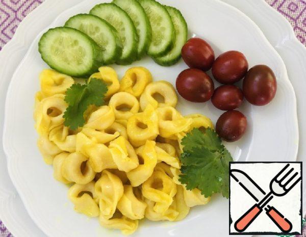 Tortellini with Turmeric Recipe