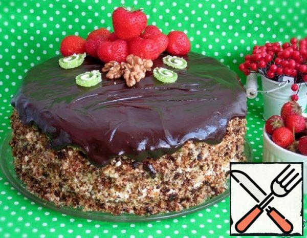 Strawberry-Nut Cake Recipe