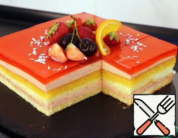 "Cake ""Fruit Opera"" Recipe"
