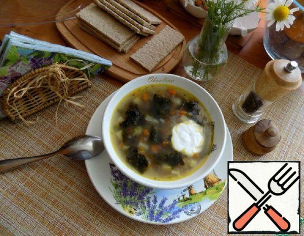 Buckwheat Soup with Seaweed Recipe