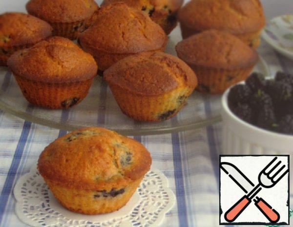 Mulberry Cupcakes Recipe
