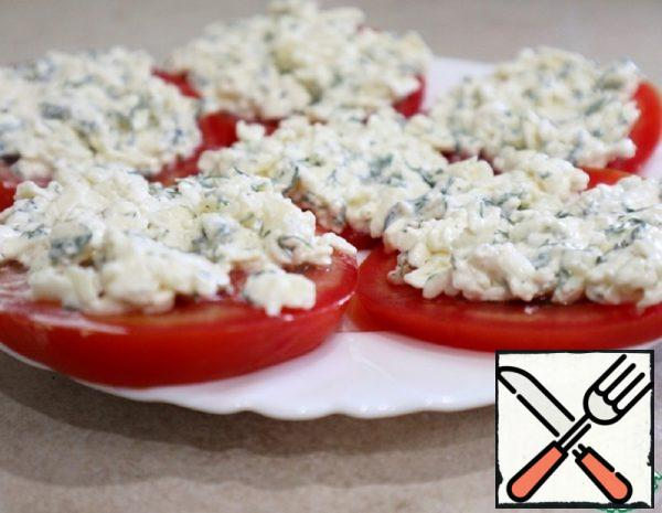 Tomatoes with Cream Cheese and Garlic Recipe