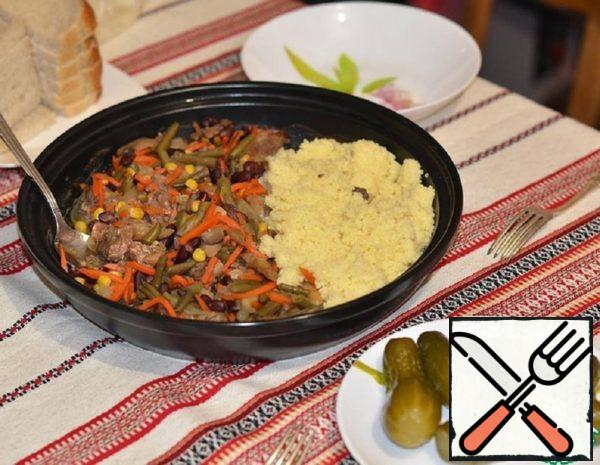 Beef with Vegetables in Tagine Recipe