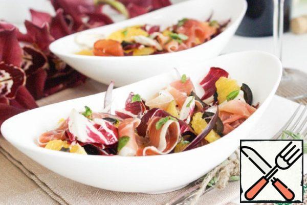 Bright Salad in Spanish Style Recipe