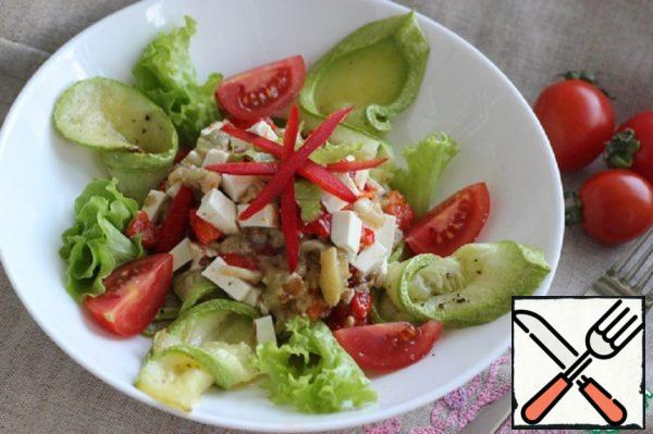 "Salad ""Spring gourmet"" Recipe"