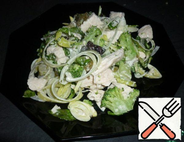 Salad with Chicken Breast Recipe