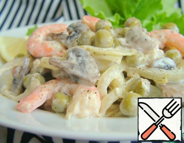 Salad with Shrimp Recipe