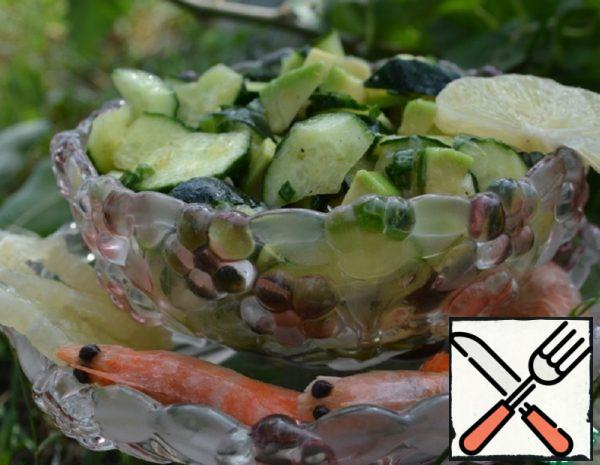 Cucumber, Avocado and Lemon Salad Recipe