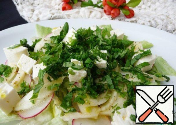 Salad with Fennel and Feta Recipe
