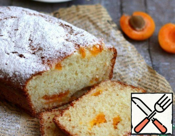 Curd Cake with Apricots Recipe