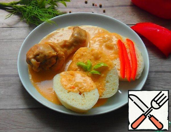 Chicken in Paprika Sauce Recipe