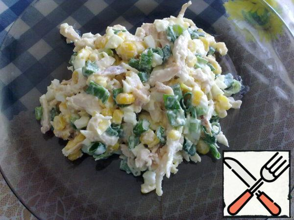 Salad with smoked Chicken Breast Recipe