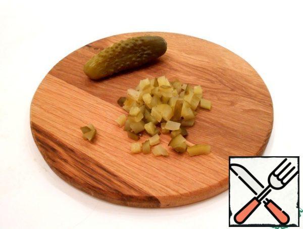 pickled cucumber.