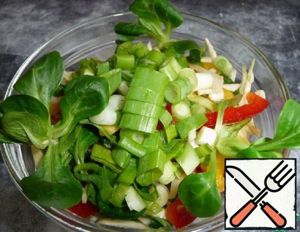 Cabbage Salad with Bell Pepper Recipe