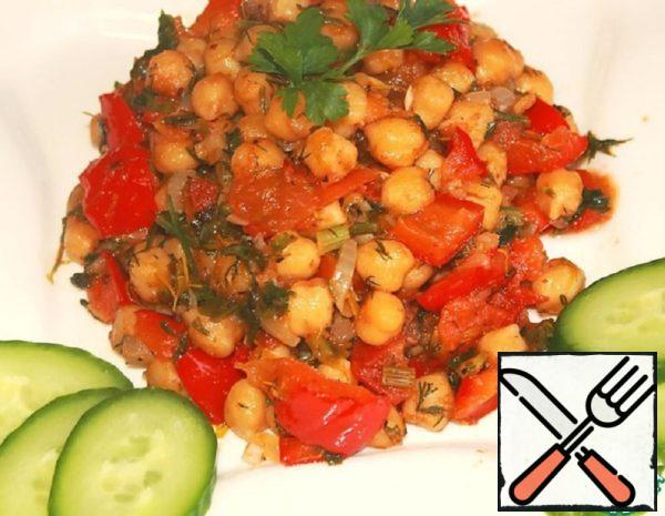 Braised Chickpeas with Vegetables Recipe
