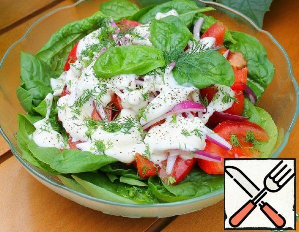 Spinach and Tomato Salad Recipe