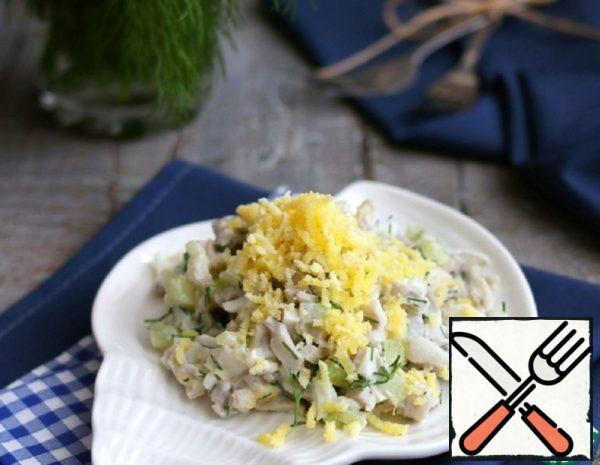 Salad with Squid and Celery Recipe
