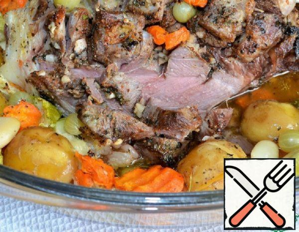 Lamb with Vegetables Recipe
