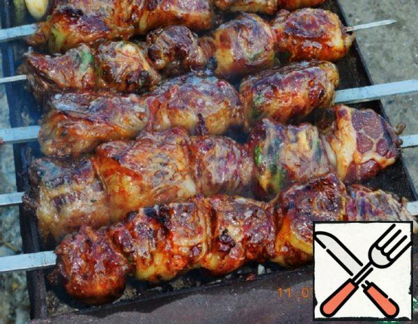 Pork Liver Kebab Recipe