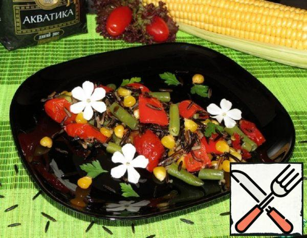 Stew with wild Rice and Vegetables Recipe