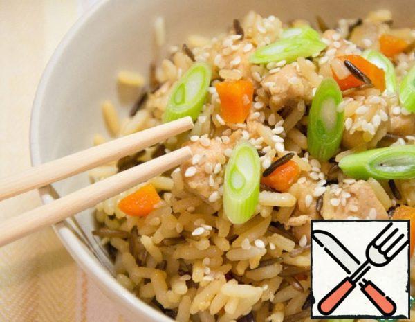 Garlic Rice with Chicken Recipe