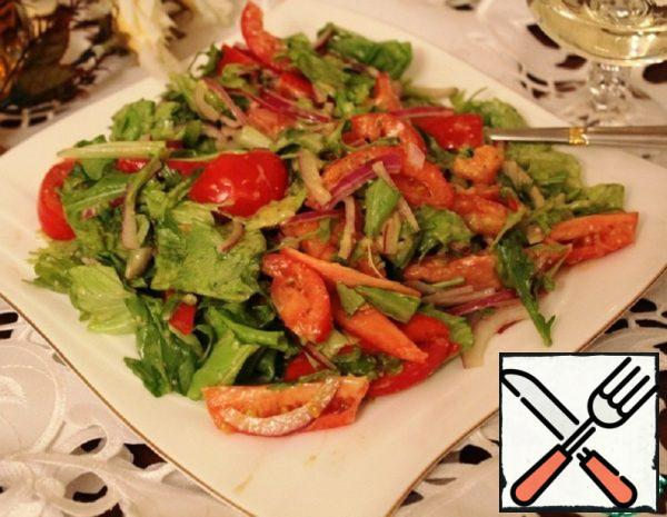 Salad with Parmesan Dressing Recipe