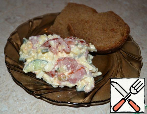 Summer Cottage Cheese Salad Recipe