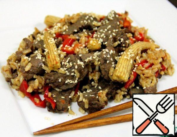 Chinese Beef with Rice Recipe