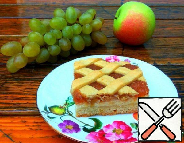 Pie with Cottage Cheese and Apples Recipe