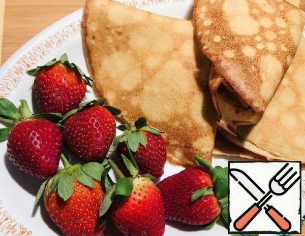 Buckwheat Pancakes on Sour Cream with Apple Recipe