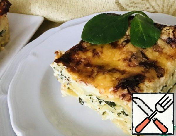 Spinach and Ricotta Lasagna Recipe