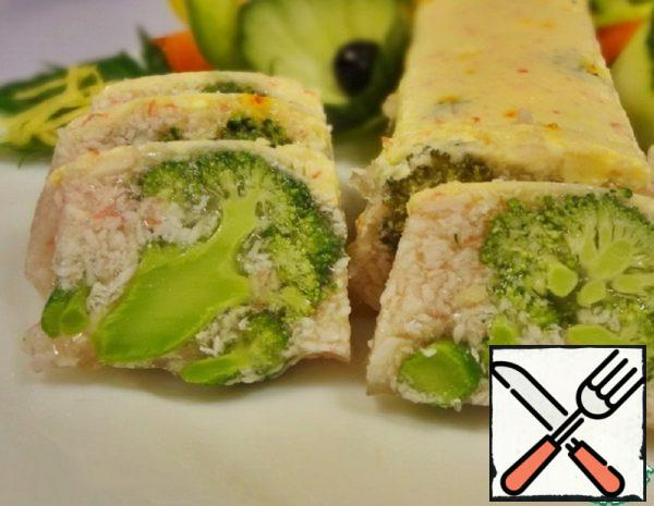 Crab Sticks and Broccoli Snack Recipe