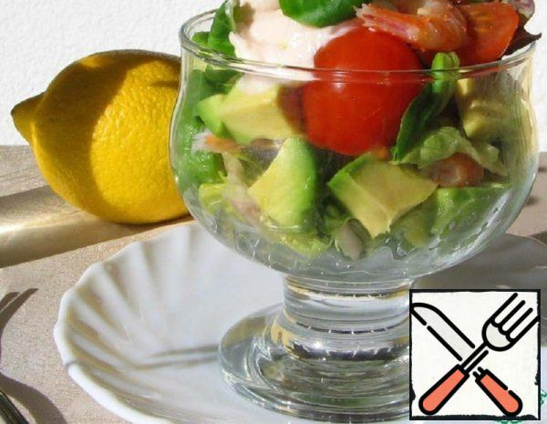 Salad Cocktail with Shrimp Recipe