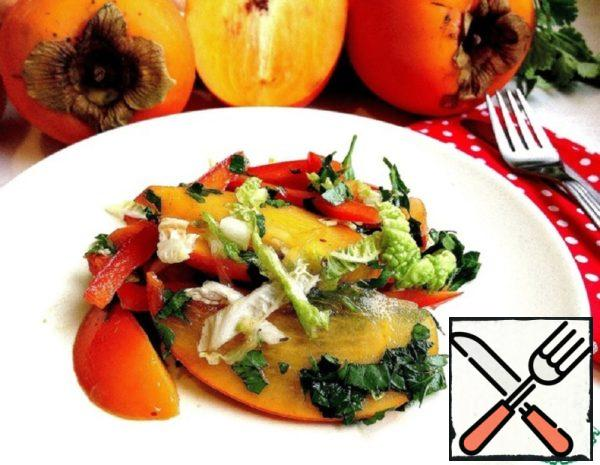 Salad with Persimmons Recipe