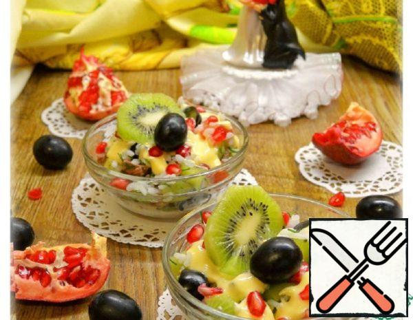 Fruit Salad with Grilled Beef Recipe